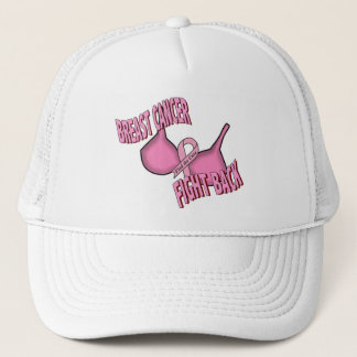 BREAST CANCER TRUCKER HAT