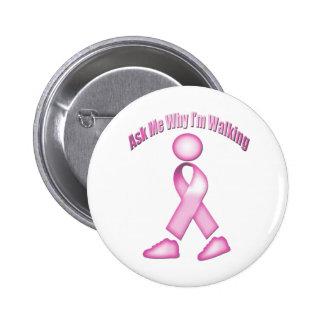 Breast Cancer Walk 6 Cm Round Badge