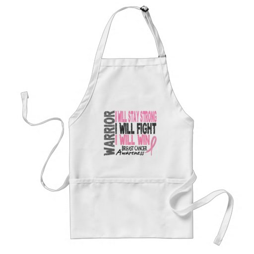 Breast Cancer Warrior Aprons