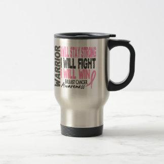 Breast Cancer Warrior Mugs
