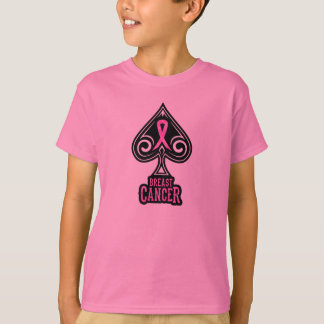 Breast Cancer - Youth Tshirt - Spades Edition