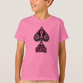 Breast Cancer - Youth Tshirt - Spades Edition