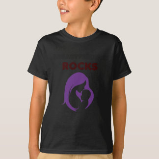breast feeding rocks T-Shirt