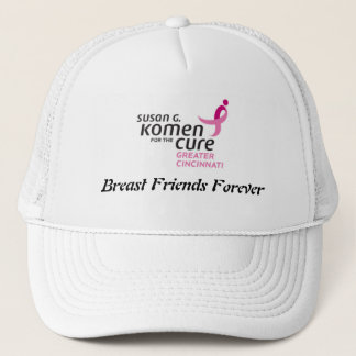 Breast Friends Forever Truckers Hat