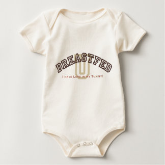 Breastfed University Baby Bodysuit
