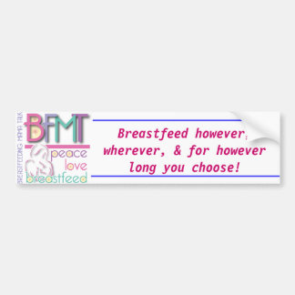 Breastfeed Bumper Sticker