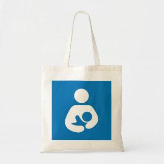 breastfeeding icon tote bag