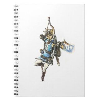 Breath of the Wild Link notebook