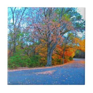 Breath-taking Autumn Day Getaway Tile