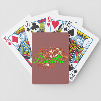 Breathe 2 bicycle playing cards