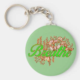Breathe 2 key ring