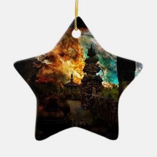 Breathe Again Bali Ceramic Star Decoration