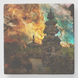 Breathe Again Bali Stone Coaster