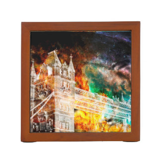 Breathe Again London Dreams Desk Organiser