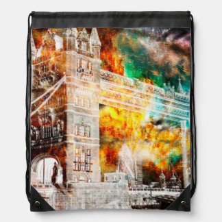Breathe Again London Dreams Drawstring Bag