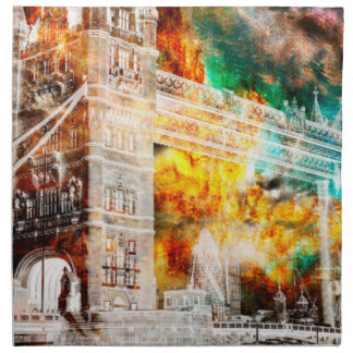 Breathe Again London Dreams Napkin