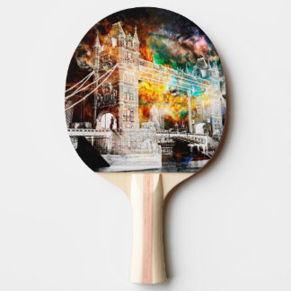 Breathe Again London Dreams Ping Pong Paddle