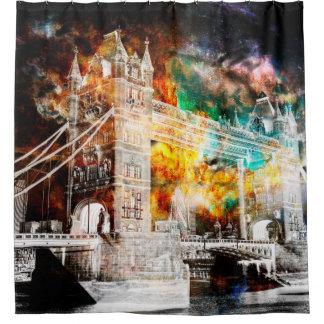 Breathe Again London Dreams Shower Curtain