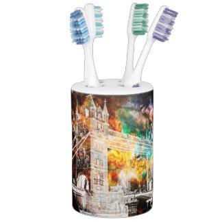 Breathe Again London Dreams Soap Dispenser And Toothbrush Holder