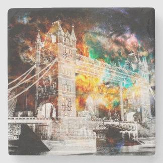 Breathe Again London Dreams Stone Coaster