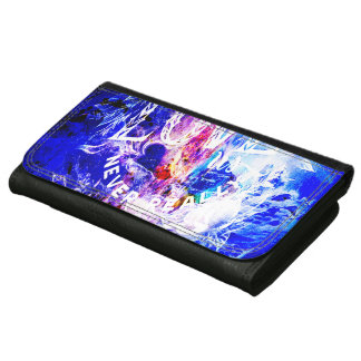 Breathe Again Yule Dreams of the Ones that Love Us Leather Wallet For Women