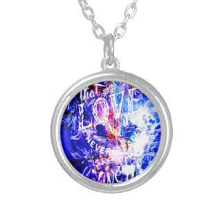 Breathe Again Yule Dreams of the Ones that Love Us Silver Plated Necklace