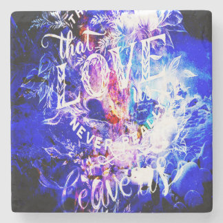 Breathe Again Yule Dreams of the Ones that Love Us Stone Coaster