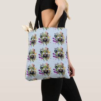 Breathe Art Tote Bag