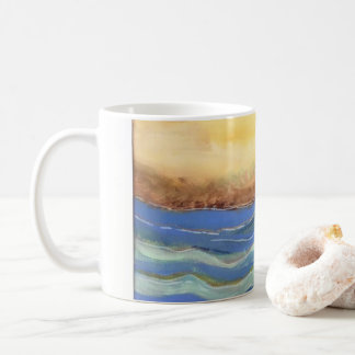 """Breathe"" Beach Mug"