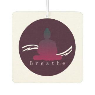 """Breathe"" Beautiful Buddha. Car Air Freshener"