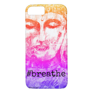 Breathe Buddha Art iPhone Case