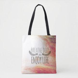 Breathe Deep Tote Bag