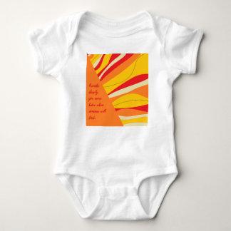 breathe deeply baby bodysuit