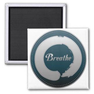 Breathe Enso Stitch Magnets
