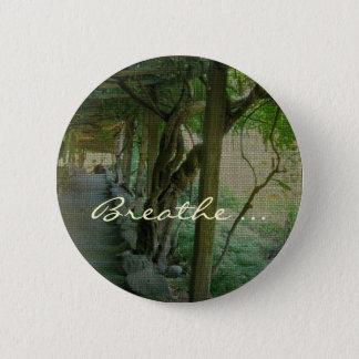 Breathe/Japanese Garden - Button