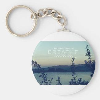 Breathe Key Ring