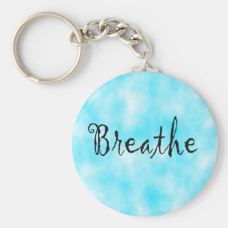 Breathe-keychain Key Ring