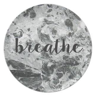 Breathe marble plates