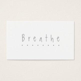 "Breathe - the ""take a break"" card"