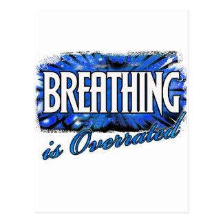 Breathing Postcard