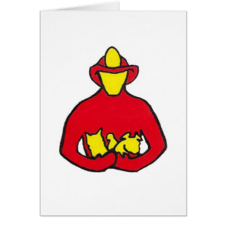 Breaths for Pets Classic Logo Greeting Cards