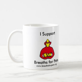 Breaths for Pets Red Logo Mug