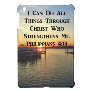 BREATHTAKING PHILIPPIANS 4:13 SCRIPTURE CASE FOR THE iPad MINI