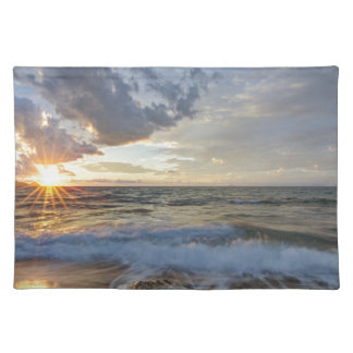 Breathtaking sunset placemat