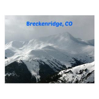 Breckenridge, CO Postcard