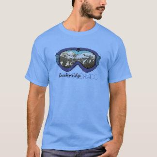 Breckenridge Colorado blue goggle guys tee