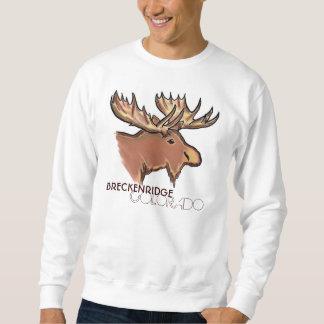 Breckenridge Colorado brown moose unisex shirt