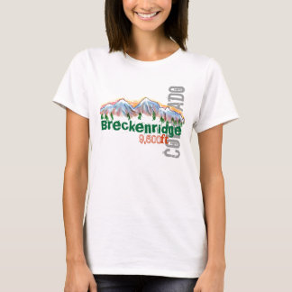 Breckenridge Colorado elevation tee