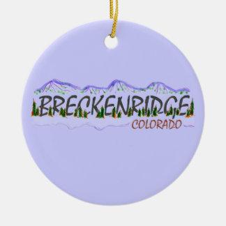Breckenridge Colorado hanging ornament