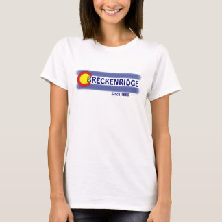 Breckenridge Colorado local flag ladies tee